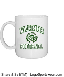 Warrior Football Mug Design Zoom