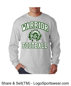 Warrior Football - Adult Design Zoom
