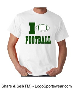Love Football Design Zoom