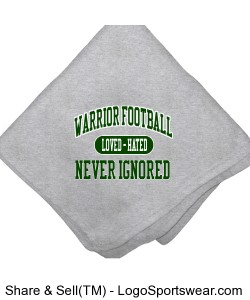 Loved Hated Never Ignored Sweatshirt Blanket Design Zoom