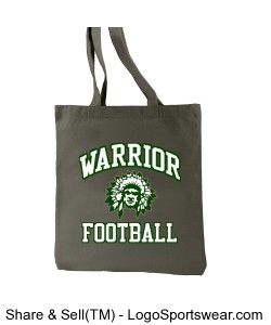 Warrior Football Tote Design Zoom